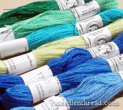 Fine d'Aubusson Wool for Hand Embroidery