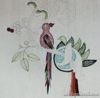 Berlin Embroidery Modern Jacobean Embroidery Kit