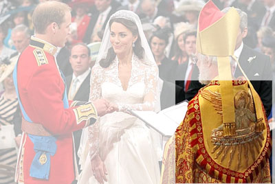 Royal Wedding: Archbishop's Cope
