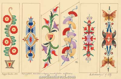 Hungarian hand embroidery designs