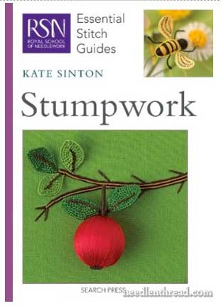 Stumpwork Essential Stitch Guide from the Royal School of Needlework