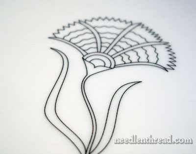 Prick and Pounce Embroidery Design Transfer