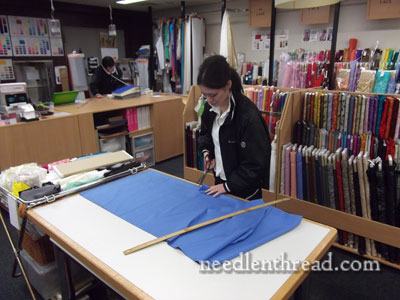 Shopping for Silk Fabric in Japan