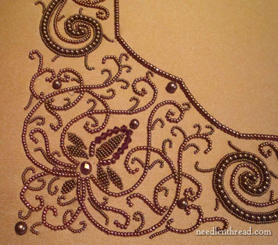 Beadwork Embroidery & Goldwork for Framing