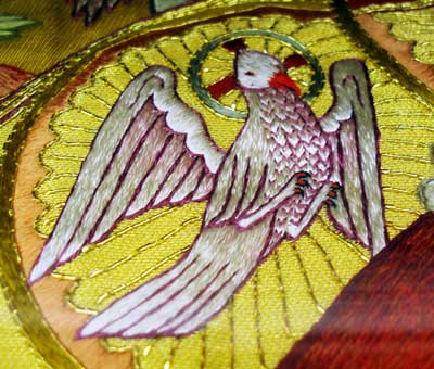 Ecclesiastical Embroidery: Holy Ghost