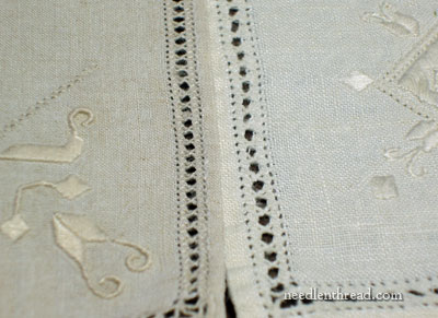 Vintage Table Linens: Lefkara Lace?