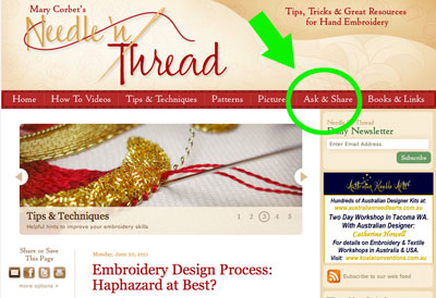 Needle 'n Thread Ask & Share Launch