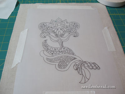 Hand Embroidery Design Transfer Lessons Needlenthread