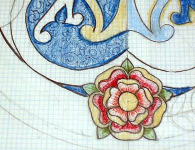 Church Embroidery Project: Design Process