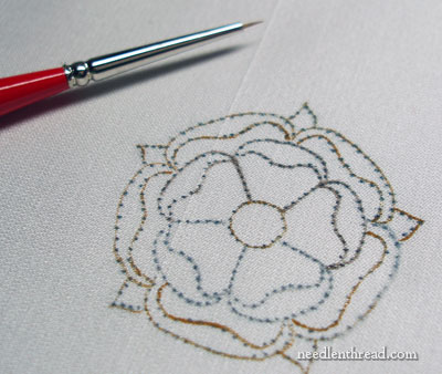 Choosing fabric for hand embroidery