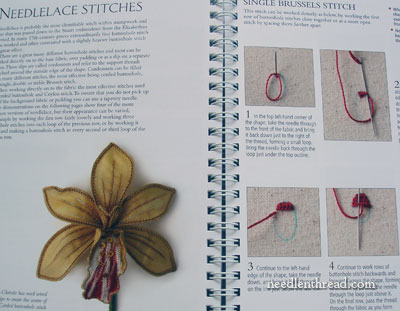 RSN Stitch Guide for Stumpwork Embroidery