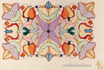 Hungarian Embroidery Pattern #10