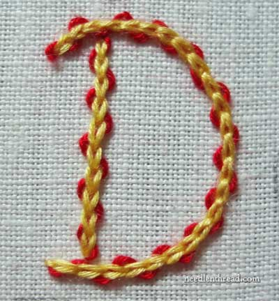 Embroidery Stitch Video Tutorial Chain Stitch Needlenthread