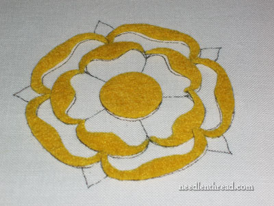 Felt Padding for Goldwork