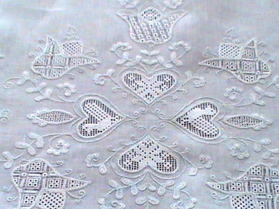Schwalm Embroidery Table Runner