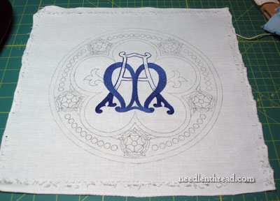 Ecclesiastical Embroidery: Marian Monogram