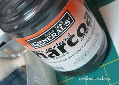 Pure Charcoal Powder for embroidery design transfer