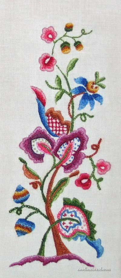 Cleaning Hand Embroidery