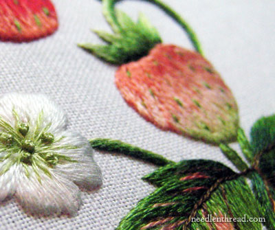 Vintage Strawberries Online Needlework Class