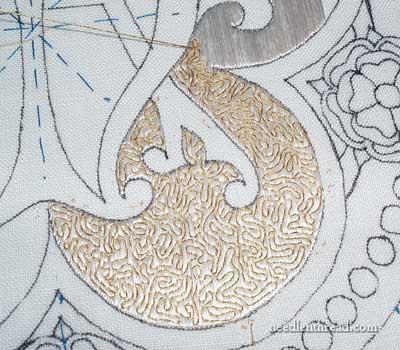 Flat Silk & Goldwork Embroidery