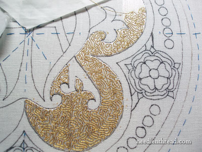 Flat Silk & Goldwork Embroidery