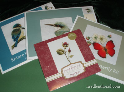 Trish Burr Embroidery Kits and DVD