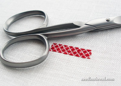 Pattern Darning in Embroidery