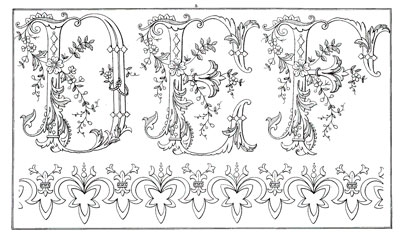 Sajou Embroidery Pattern No. 612