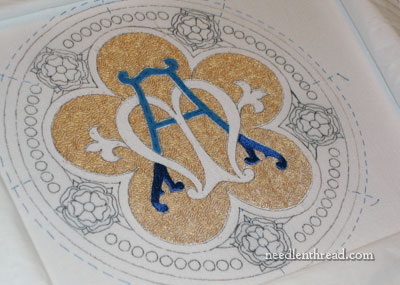 Ecclesiastical Embroidery: Medallion