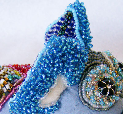 Bead Embroidery Sculpture