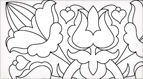 Hungarian Embroidery Pattern #10: Circus Pods!