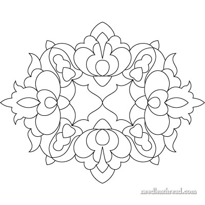 Hungarian Embroidery Design