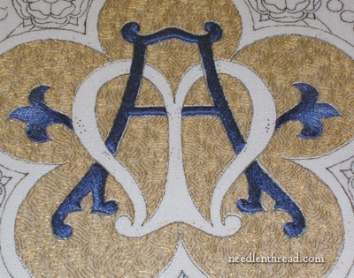 Church Embroidery: Medallion Project