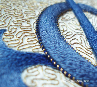 Goldwork & Silk Hand Embroidery