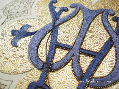 Goldwork & Silk Church Embroidery Project