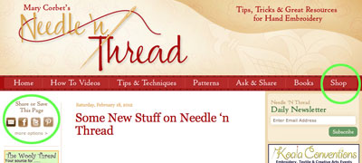 Needle 'n Thread Updates