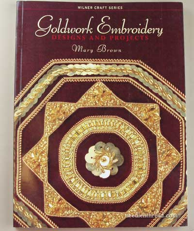 Goldwork Embroidery by Mary Brown