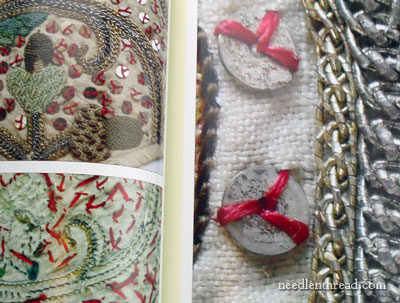 Elizabethan Stitchery by Jacqui Carey
