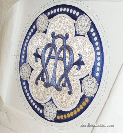 Ecclesiastical Embroidery: Silk & Goldwork embroidery