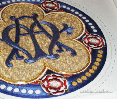 Marian Medallion Church Embroidery Project