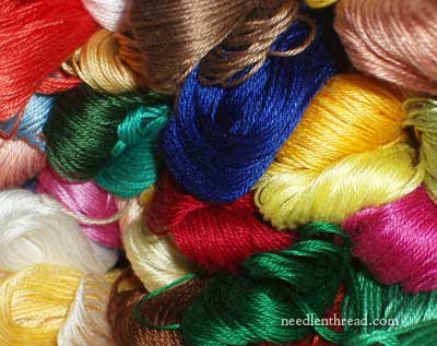 Coton a Broder Embroidery Thread