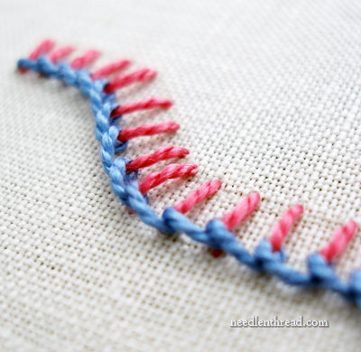 Raised Stem Stitch