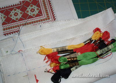 Ukrainian Embroidered Cloth Project