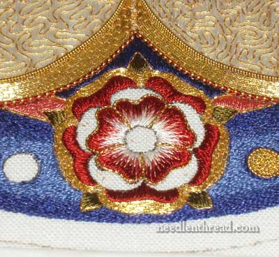 Plunging Goldwork Threads
