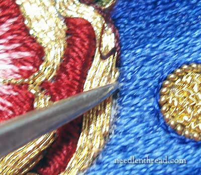 Silver Mellor for Goldwork Embroidery