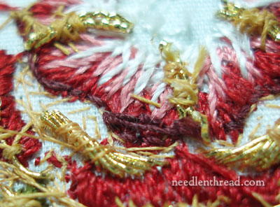 Outlining Goldwork