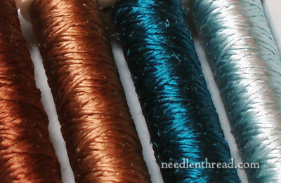 Soie Ovale - new colors of silk for hand embroidery