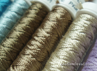 Soie de Paris - new colors of silk hand embroidery thread