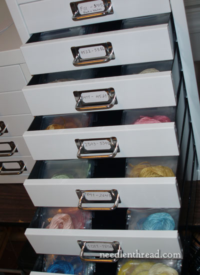 Hand Embroidery Thread Storage Solutions