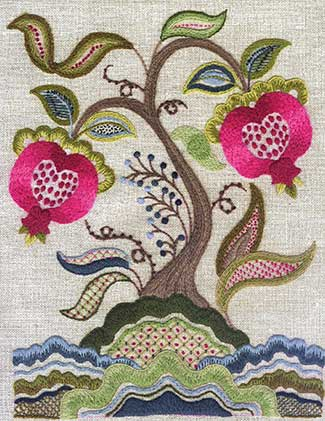 Talliaferro Embroidery Design - Tree of Life
